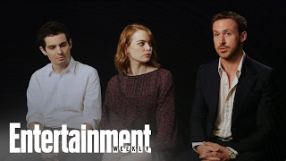 Download La La Land: Emma Stone, Ryan Gosling & Damien Chazelle On Balancing The Roles   Entertainment Weekly Video