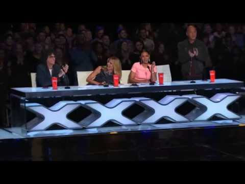 America's Got Talent 2015 - Wayne Hoffman Blindfolded Mentalist Lights Firecrackers in his Mouth