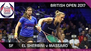 Download Squash: El Sherbini v Massaro - British Open 2017 SF Highlights Video