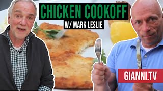 Download Chicken Cutlet and Potatoes Cook-off, Italian Recipes - Gianni's North Beach Video