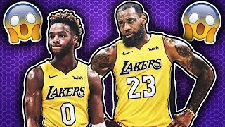 Download How LeBron James Will Play with His Son Bronny in the NBA! Video
