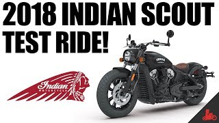 Download 2018 Indian Scout Test Ride! Video