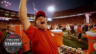Download David Saville is the heart of Clemson Football   College GameDay   ESPN Video