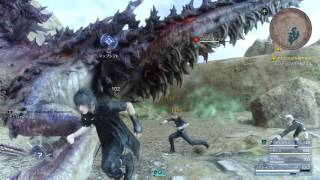 Download Final Fantasy XV - Bandersnatch Boss Fight Gameplay [1080p HD] PS4 PRO Video