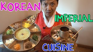 Download 9 Course TRADITIONAL Korean ROYAL Cuisine (What Korean Emperors Ate) Video