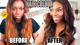 Download HOW I CHANGED MY HAIR COLOUR AFTER BLEACHING FAIL! HONEY CHOCOLATE BROWN Video