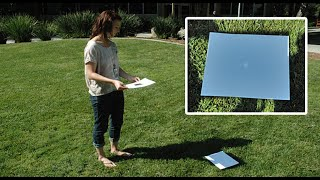 Download How to make a pinhole projector to safely view the eclipse Video