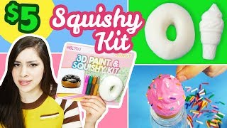 Download Testing a $5 Squishy Kit | NEW DIY Squishies from 5 Below Video