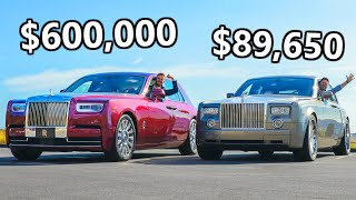 Download 2020 Rolls-Royce Phantom vs The Cheapest Phantom You Can Buy Video