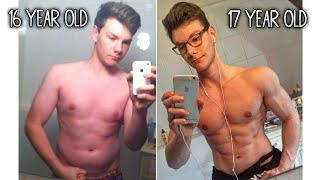 Download 16 Year Old | 1 Year Incredible Body Transformation at Home! Video