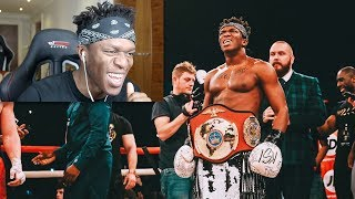 Download REACTING TO THE KSI WELLER FIGHT Video