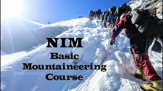 Download Nehru Institute of Mountaineering   BMC 254   2018   Nikum Indian Video