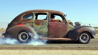 Download Bootlegging with Boost! '40 Ford Fordor Gets Supercharged - Roadkill Garage Preview Ep. 26 Video