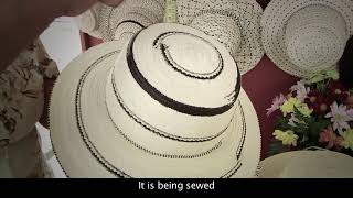 Download Artisanal processes for talcos, crinejas and pintas weaving of the pinta'o hat Video