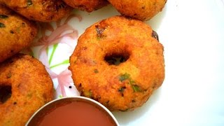 Download Instant Medu Vada | Bread Medu Vada | घर पर तुरंत मेदू वड़ा कैसे बनाये । Breakfast Recipe Video