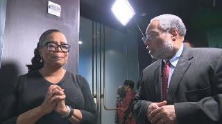 Download Oprah Winfrey's emotional first look at ″Watching Oprah″ Smithsonian exhibit Video