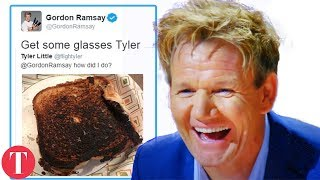 Download 10 Times Gordon Ramsay Was SAVAGE In Mean Tweets *Hilarious* Video