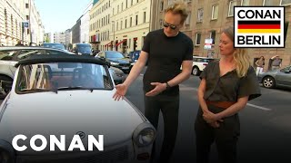 Download Conan Drives A Rickety East German Trabant - CONAN on TBS Video