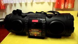 Download JVC RV-NB100 boomblaster boombox recenzja part 2 Video