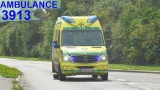 Download falck RTW 3913 ambulance i udrykning rettungsdienst auf Einsatzfahrt 緊急走行 救急車 Video