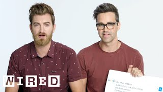 Download Rhett & Link Answer the Web's Most Searched Questions | WIRED Video