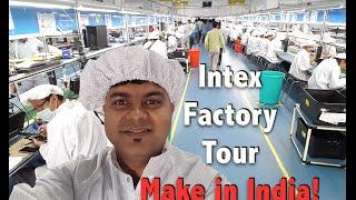 Download Intex India Phone Manufacturing Factory Visit, Vlog Update | Make in India Video