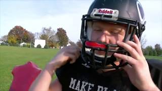 Download Football Player Gives Up Touchdown So Teammate Can Score Video
