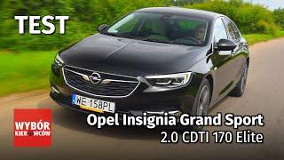 Download Opel Insignia Grand Sport 2.0 CDTI 170 Elite – Motor Test PL – recenzja, opinie po polsku Video