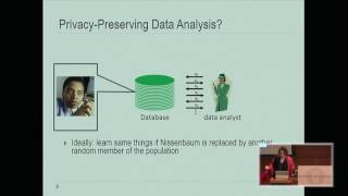 Download The Definition of Differential Privacy - Cynthia Dwork Video