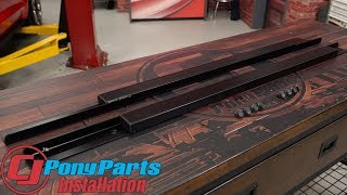 Download 2018 Mustang Fastback Jacking Rail Low-Profile Pair Installation Video