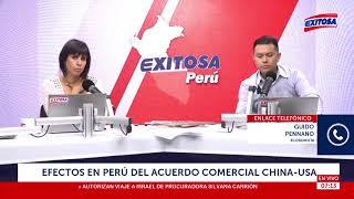 Download Efectos en Perú del acuerdo comercial China - USA Video