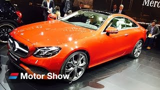 Download 2017 Mercedes E Class Coupe - First Look at Detroit Motor Show Video
