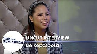 Download TWBA Uncut Interview: Lie Reposposa Video