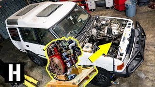 Download Cummins R2.8 Turbo Diesel Soon to Power Scotto's Land Rover Discovery?!? #semacrunch Video