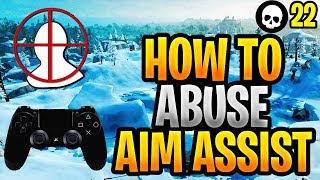 Download How To Abuse Aim Assist + Improve Your Aim PS4/Xbox Fortnite! (Fortnite Controller Aim Guide) Video