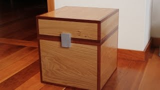 Download How to make a Minecraft Chest in Real Wood - Kids Toys Video