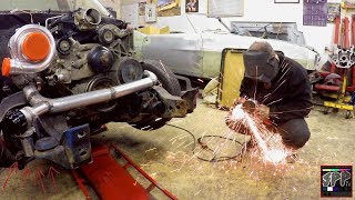 Download Welding on a Wastegate + Fabricating a Custom Turbo Downpipe | LS Swap S10 Update Video