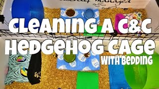 Download Cleaning a Hedgehog C&C Cage (with bedding) 2015 Video