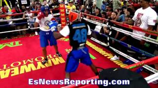 Download Can You Compare? Floyd Mayweather Sparring vs Conor McGregor Sparring ESNEWS BOXING Video