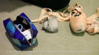 Download How Chelsea, Elise, and Ashley prep their Pointe Shoes Video