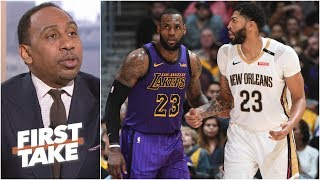 Download Anthony Davis will be a Laker either via trade or free agency – Stephen A. | First Take Video