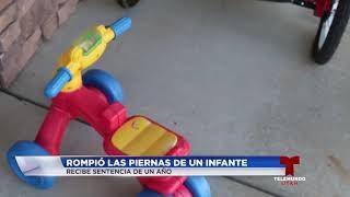 Download Hombre culpable de fracturar las piernas de un infante recibe sentencia de un año Video