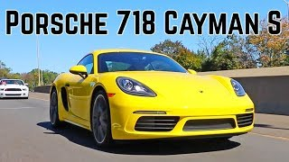 Download Porsche 718 Cayman S - vs 981 sound and base Cayman Video