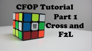 Download How to Solve a Rubik's Cube Fridrich Method (CFOP) Part 1 F2L | How to solve a Rubik's Cube FAST! Video