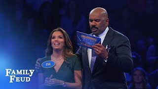 Download Eva Longoria's INCREDIBLE Fast Money! | Celebrity Family Feud Video