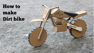 Download How to make cardboard Dirt bike at very simple Video