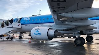 Download TRIPREPORT | KLM Cityhopper Embraer 190 | ECONOMY | Glasgow to Amsterdam Video
