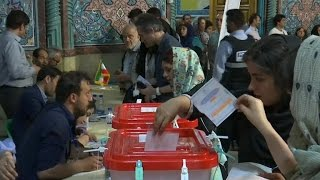 Download Moderate President Hassan Rouhani wins re-election in Iran Video