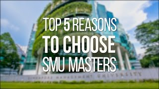 Download Top 5 Reasons to Choose SMU Masters - Hear From Our Students and Alumni Video