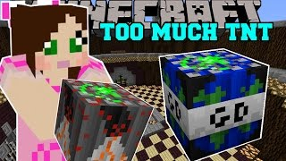 Download Minecraft: WORLD ENDING TNT (GLOBAL DISASTER TNT!) Mod Showcase Video